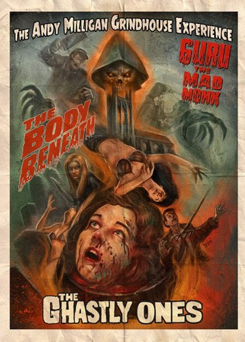 Andy Milligan Grindhouse Experience Triple Feature