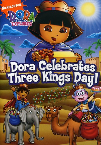 Dora Clebrates Three Kings Day