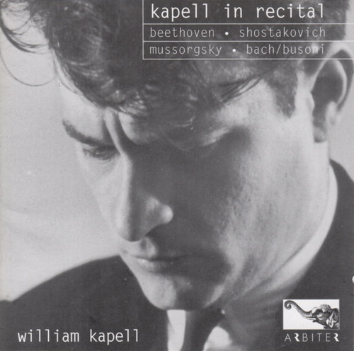 Kapell in Recital