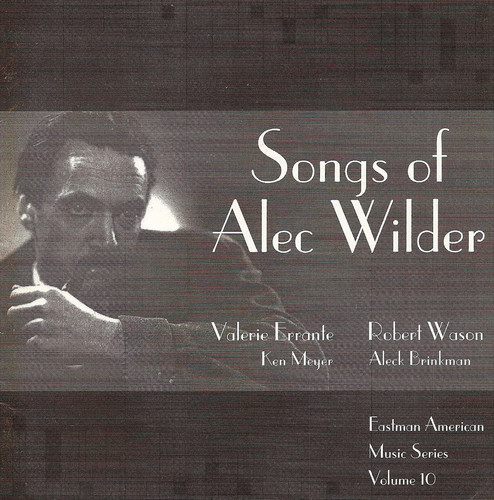 Songs of Alec Wilder
