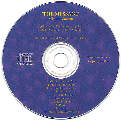 Message An Audio CD