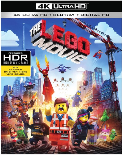 The Lego Movie   [4K Ultra HD + Blu-ray + Digital HD]