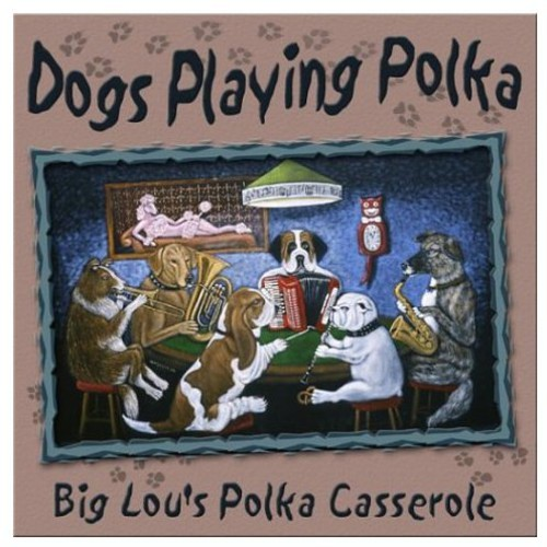 Dogs Playing Polka