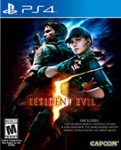 Resident Evil 5 HD for PlayStation 4