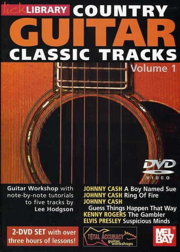 Country Guitar Classic: Tracks 1