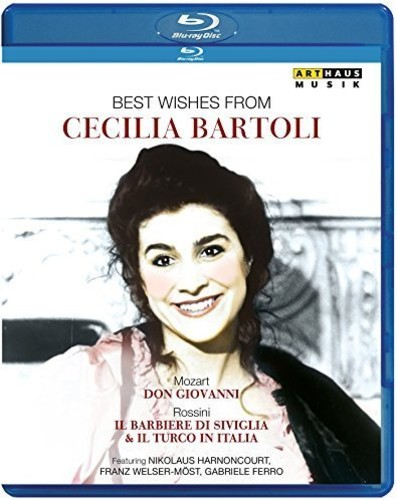 Best Wishes from Cecilia Bartoli