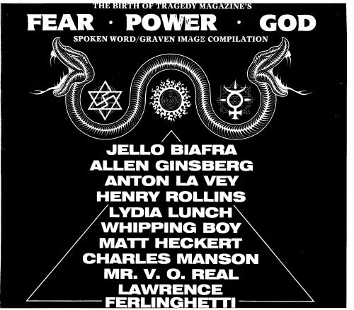 Birth of Tragedy Magazine's Fear Power God