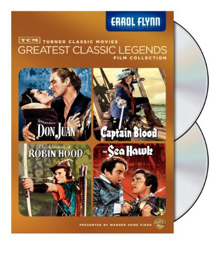 TCM Greatest Classic Legends Film Collection: Errol Flynn