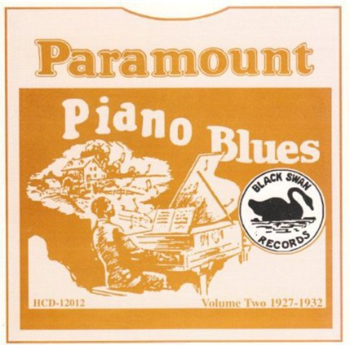 Paramount Piano Blues 2 1927-1932 /  Various