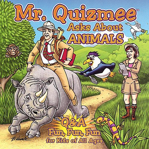 Mr. Quizmee Asks About Animals /  Various