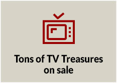 Tons of TV Treasures on sale!
