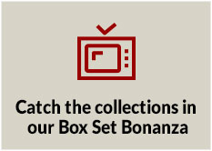 Catch the collections in our Box Set Bonanza