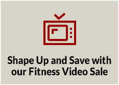 Shape Up and Save with our Fitness Video Sale