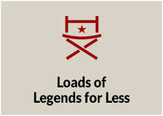 Loads of Legends for Less