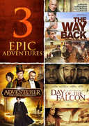 The Adventurer: The Curse of the Midas Box /  Day of the Falcon /  The Way Back , Antonio Banderas