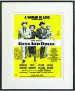 A Woman in Love Framed Sheet Music