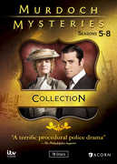 Murdoch Mysteries Collection 5-8 , Yannick Bisson