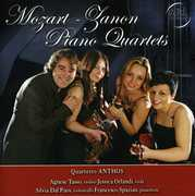 Mozart-Zanon Piano 4Tets [Import] , Quartetto Anthos