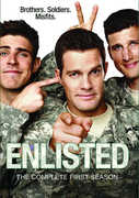 Enlisted: The Complete First Season , Aaron Eckhart