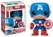 FUNKO POP! MARVEL: Captain America