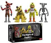 """FUNKO ARTICULATED ACTION FIGURE: Five Nights At Freddy's - 4 Figure Pack (2""""), Set 1"""