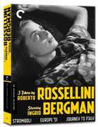 3 Films By Roberto Rossellini Starring Ingrid Bergman (Criterion Collection) , Ingrid Bergman