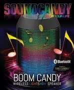Sound Candy SC3004BKBBT Boom Candy Portable Lightshow Speaker Black