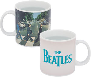 Beatles Abbey Road 20 oz. Heat Reactive Ceramic Mug