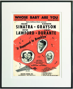 Whose Baby Are You Framed Sheet Music