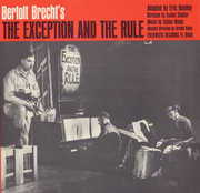 Bertolt Brecht's the Exception and the Rule , Isaiah Sheffer