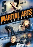 5-Movie Martial Arts Collection: East Meets West , Chuck Norris