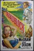 Roadblock Vintage Movie Poster