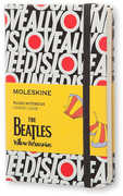The Beatles Limited Edition Notebook Pocket Ruled Black - All You Need Is Love (Moleskine)