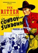The Cowboy From Sundown , Tex Ritter