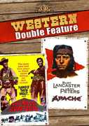 The Hills Run Red /  Apache (Western Double Feature) , Burt Lancaster