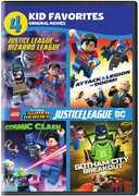 4 Kid Favorites: Lego Dc Super Heroes