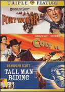 Fort Worth /  Colt .45 /  Tall Man Riding , Randolph Scott