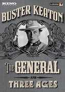 The General /  Three Ages , Buster Keaton