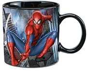 Marvel Spider-Man 20 Oz. Ceramic Heat Reactive Mug