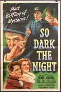 So Dark The Night Vintage Movie Poster