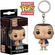 FUNKO POP! KEYCHAIN: Strange Things - Eleven with Eggo