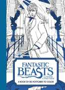 Fantastic Beasts and Where to Find Them: A Book of 20 Postcards to Color (Harry Potter)