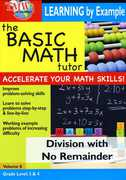 Basic Math Tutor: Division With No Remainder , Jason Gibson