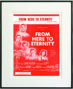 From Here to Eternity Framed Sheet Music