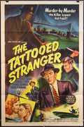 The Tattooed Stranger Vintage Movie Poster