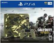 Sony PlayStation 4 Slim 1TB Consone - Call of Duty WWII Bundle: Camo