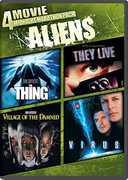 4 Movie Midnight Marathon Pack: Aliens , Savanna Samson