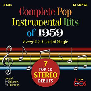 Complete Pop Instrumental Hits Of 1959 /  Var , Various Artists