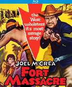 Fort Massacre , Joel McCrea