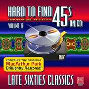Hard To Find 45s On Cd V17: Late Sixties /  Var , Various Artists